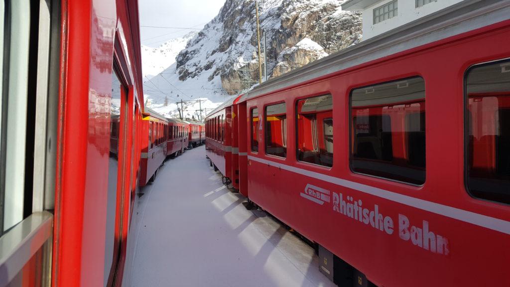 Treno rosso Bernina