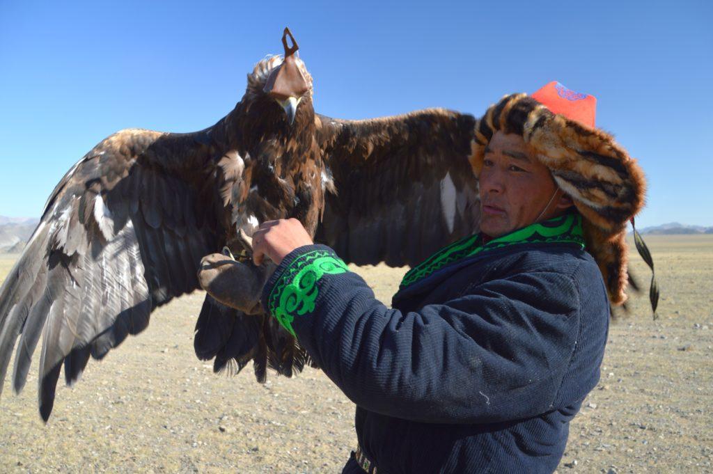 Eagle Festival, cacciatore di aquile, Mongolia