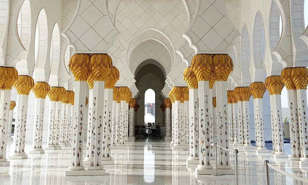 Grande Moschea bianca, Abu Dhabi