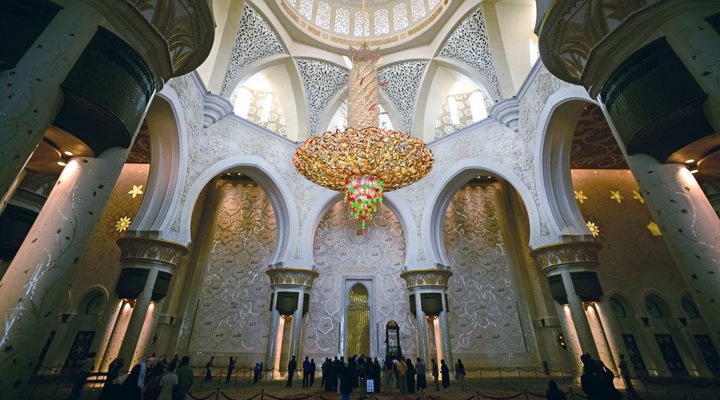 Grande Moschea dello Sceicco Zayed, Abu Dhabi -lampadario