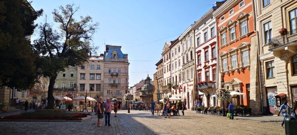 Lviv Ploshcha Rynok Площа Ринок